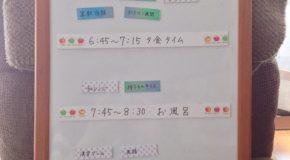 小学生の時間管理に効果のあった方法