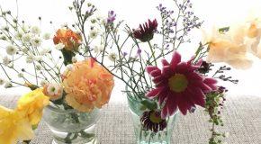 変わりゆく花と付き合うプロセス